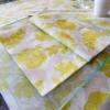 Kép 4/4 - Textilhatású szalvéta 40x40 cm Garden - zöld