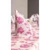 Kép 2/3 - Textilhatású szalvéta 40x40 cm Garden - rózsaszín