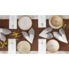Kép 2/2 - Textilhatású szalvéta 40x40 cm Royal Lace - barna