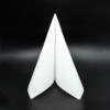Kép 4/5 - Punta Punta szalvéta 38x38 cm egyszínű - fehér - V384B360040P