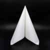 Kép 1/5 - Textilhatású szalvéta 40x40 cm Lias - fehér - 88293
