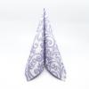 Kép 1/5 - Textilhatású szalvéta 40x40 cm Bosse - púderkék - 86757