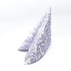 Kép 2/5 - Textilhatású szalvéta 40x40 cm Bosse - púderkék - 86757