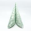 Kép 1/5 - Textilhatású szalvéta 40x40 cm Bosse - zöld - 86751