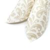Kép 4/6 - Textilhatású szalvéta 40x40 cm Carlo – pezsgővilágosbarna - 84199