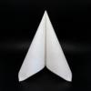 Kép 1/6 - Textilhatású szalvéta 40x40 cm Carlo - fehér - 84198