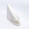 Kép 3/5 - Textilhatású szalvéta 40x40 cm Color line - arany - 88342