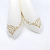 Kép 4/5 - Textilhatású szalvéta 40x40 cm Color line - arany - 88342