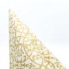 Kép 4/5 - Textilhatású szalvéta 40x40 cm Claudio - pezsgőarany - 86741