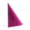 Kép 4/6 - Textilhatású szalvéta 40x40 cm Damast - viola - 88300