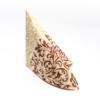 Kép 3/6 - Textilhatású szalvéta 40x40 cm Delia - bordó/krém - 88309