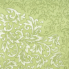 Kép 6/10 - Textilhatású szalvéta 40x40 cm Delia - zöld - 88310