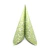 Kép 1/10 - Textilhatású szalvéta 40x40 cm Delia - zöld - 88310