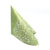 Kép 3/10 - Textilhatású szalvéta 40x40 cm Delia - zöld - 88310