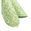 Kép 4/10 - Textilhatású szalvéta 40x40 cm Delia - zöld - 88310
