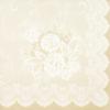 Kép 5/5 - Textilhatású szalvéta 40x40 cm Franziska - bézs - 88389