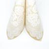 Kép 4/5 - Textilhatású szalvéta 40x40 cm Franziska - bézs - 88389