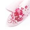 Kép 4/6 - Textilhatású szalvéta 40x40 cm Laurin - rózsa - 70121