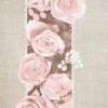 Kép 5/7 - Textilhatású szalvéta 40x40 cm Lovely Roses - rózsa - 91929
