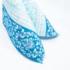 Kép 4/5 - Textilhatású szalvéta 40x40 cm Pascal - kék - 88305