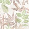 Kép 5/6 - Textilhatású szalvéta 40x40 cm Rising Leaves - zöld - AAN126816