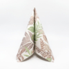 Kép 3/6 - Textilhatású szalvéta 40x40 cm Rising Leaves - zöld - AAN126816