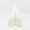 Kép 2/5 - Textilhatású szalvéta 40x40 cm Doves - arany - AAN005309