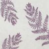 Kép 5/6 - Textilhatású szalvéta 40x40 cm Fern Leaf - viola - AAN005624