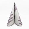Kép 2/6 - Textilhatású szalvéta 40x40 cm Fern Leaf - viola - AAN005624
