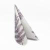 Kép 3/6 - Textilhatású szalvéta 40x40 cm Fern Leaf - viola - AAN005624