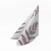 Kép 1/6 - Textilhatású szalvéta 40x40 cm Fern Leaf - viola - AAN005624