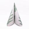 Kép 2/6 - Textilhatású szalvéta 40x40 cm Fern Leaf - zöld - AAN005616