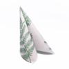 Kép 3/6 - Textilhatású szalvéta 40x40 cm Fern Leaf - zöld - AAN005616