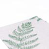 Kép 4/6 - Textilhatású szalvéta 40x40 cm Fern Leaf - zöld - AAN005616