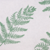 Kép 6/6 - Textilhatású szalvéta 40x40 cm Fern Leaf - zöld - AAN005616