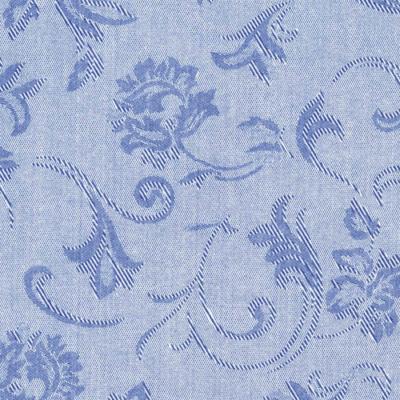 Mikrotextil hatású szalvéta 40x40 cm Praga kék