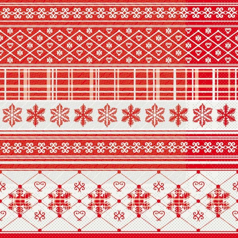 Karácsonyi szalvéta 40x40 cm Martha - piros