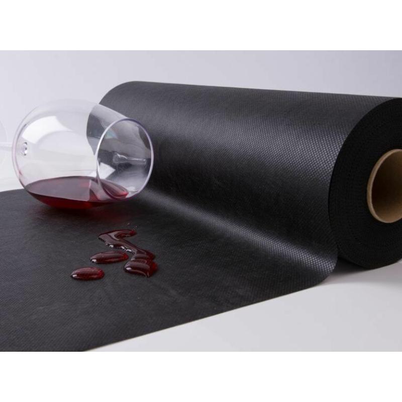 Asztali futó 40 cm x 48 m Newtex - sötétzöld