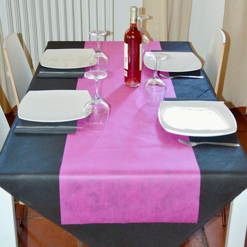 Asztali futó 40 cm x 48 m Newtex - fuxia