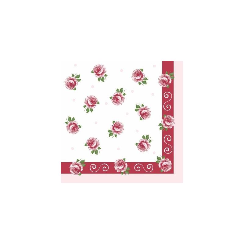 Asztali futó 40 cm x 4,8 m textilhatású Rosita - bordó