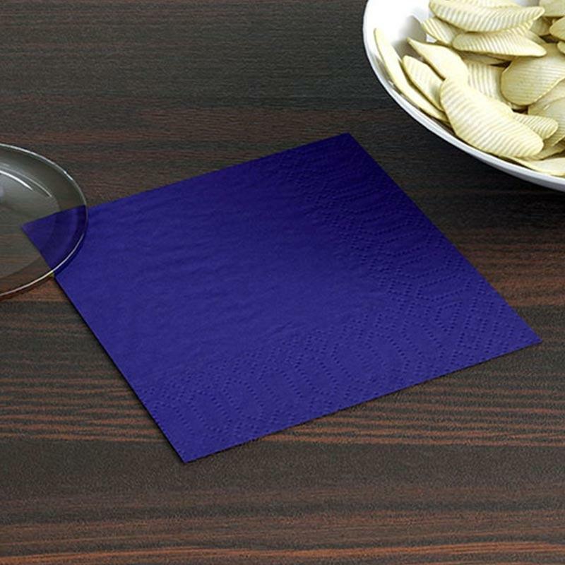 Koktélszalvéta 20x20 cm - kék
