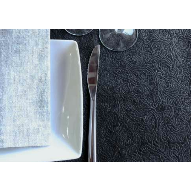 Asztali futó 40 cm x 45 m Newtex Precorte - fekete