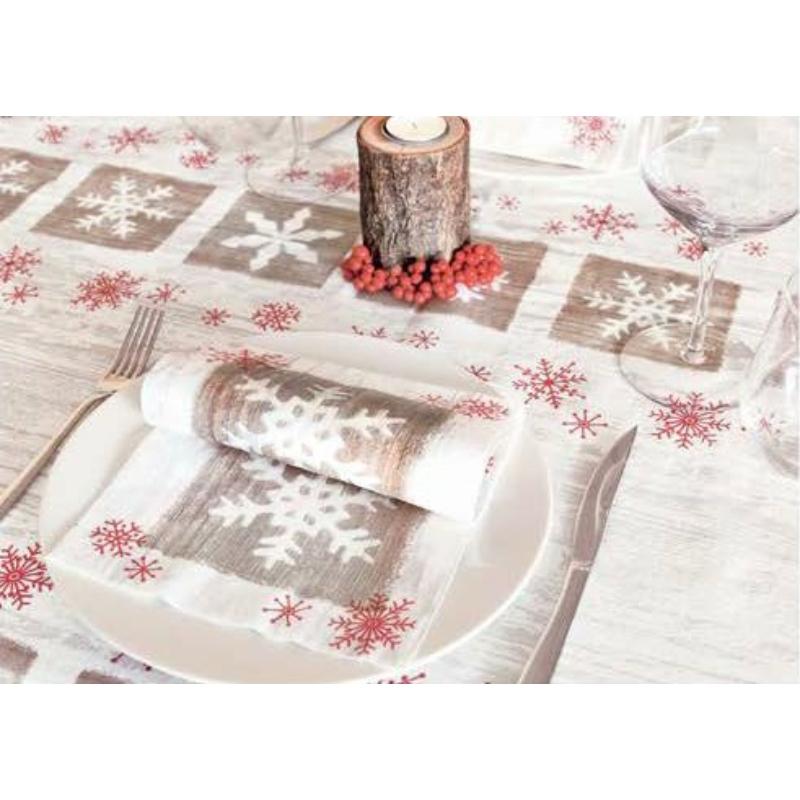 Textilhatású szalvéta 40x40 cm Frozen
