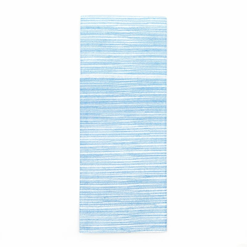 Mikrotextil hatású 1/8 hajtású evőeszköztartós szalvéta 40x32 cm Costes - kék