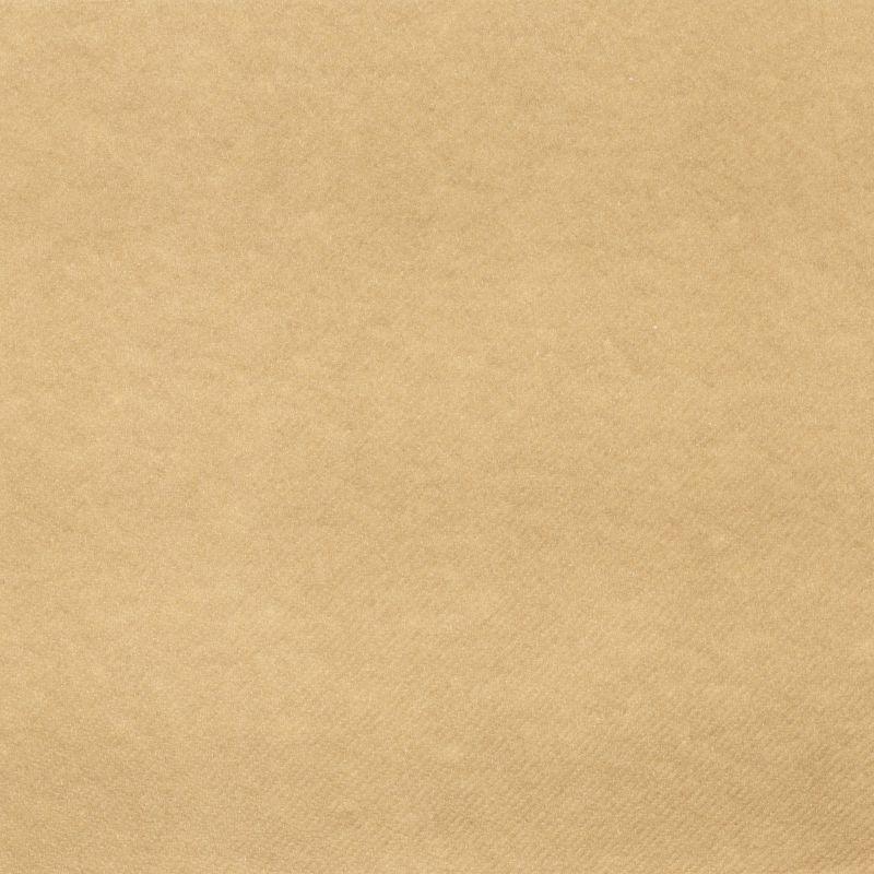 Textilhatású szalvéta 40x40 cm - natúr barna