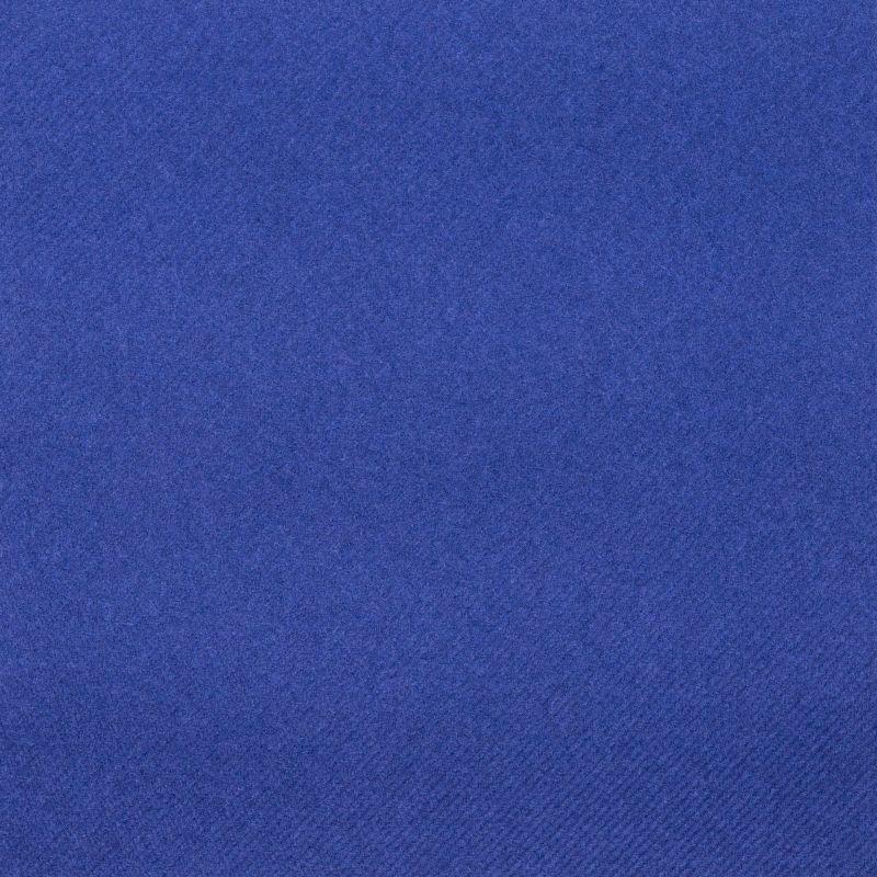Textilhatású szalvéta 40x40 cm - sötétkék - 87517