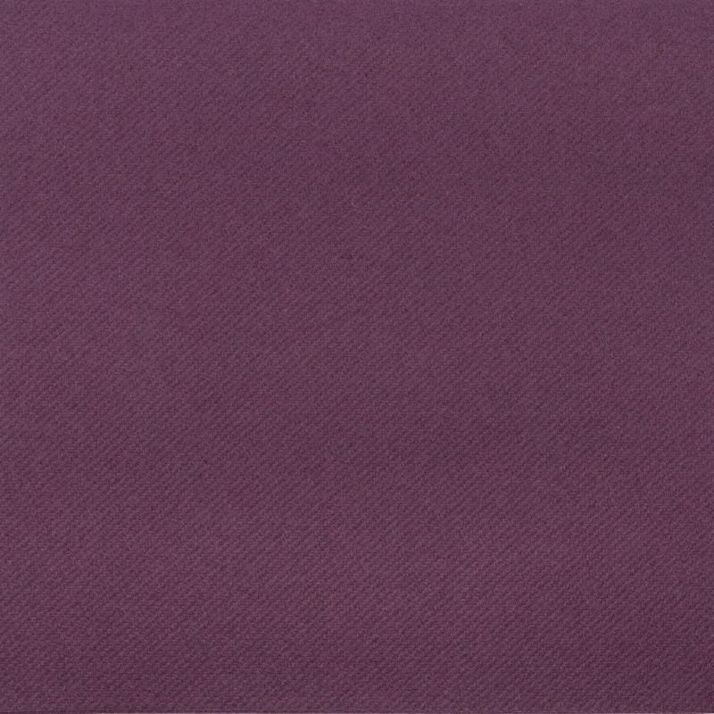Textilhatású szalvéta 40x40 cm - szilvalila