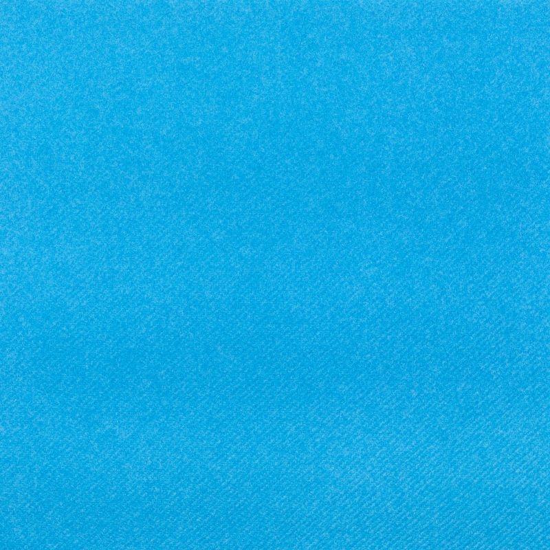 Textilhatású szalvéta 40x40 cm - tengerkék