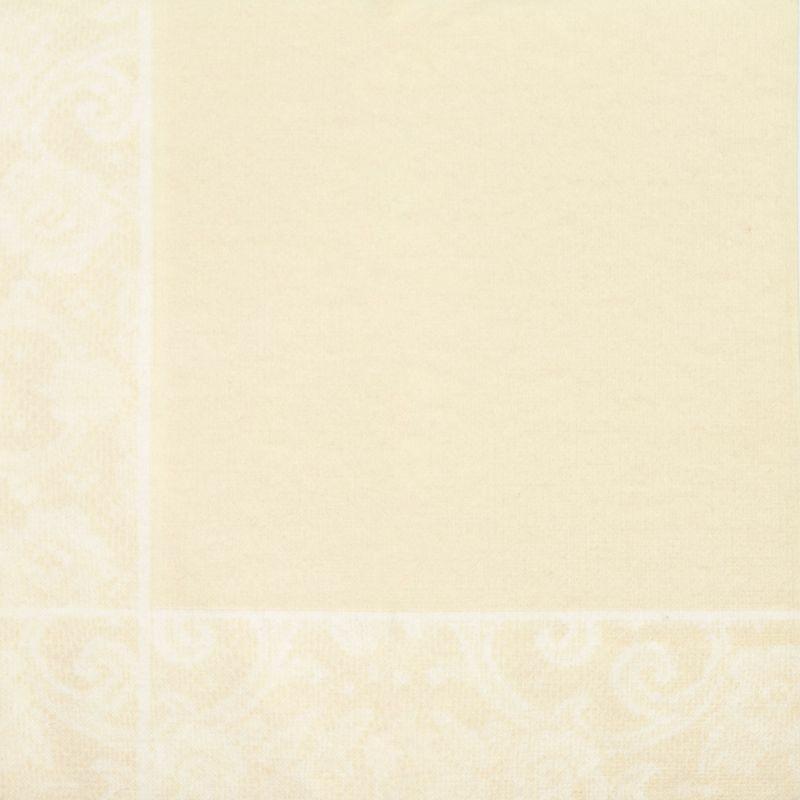 Textilhatású szalvéta 40x40 cm Csipkemintás - bézs - k404f86631818