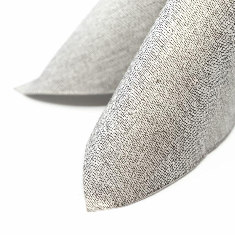 Textilhatású szalvéta 40x40 cm Farmer - kő